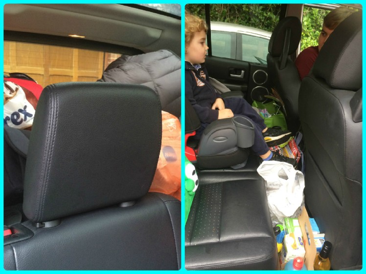 Car Packed for Coombe Mill