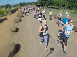 Running Whipsnade 10km