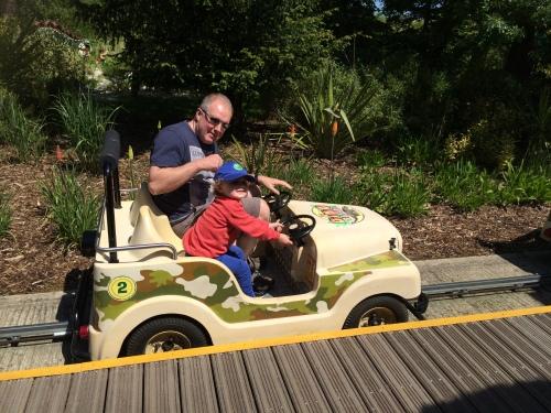 Safari Jeeps at Legoland