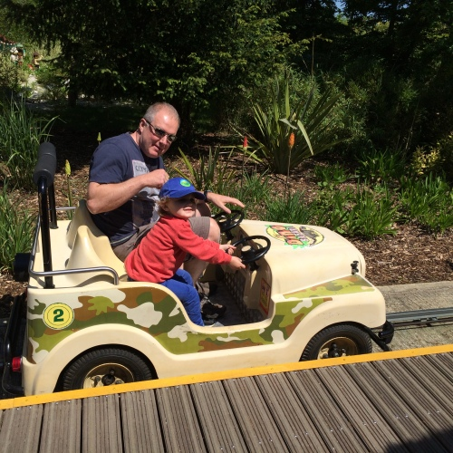 Safari Jeeps at Legoland