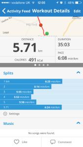 5 km PB