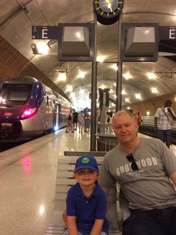 train to italy