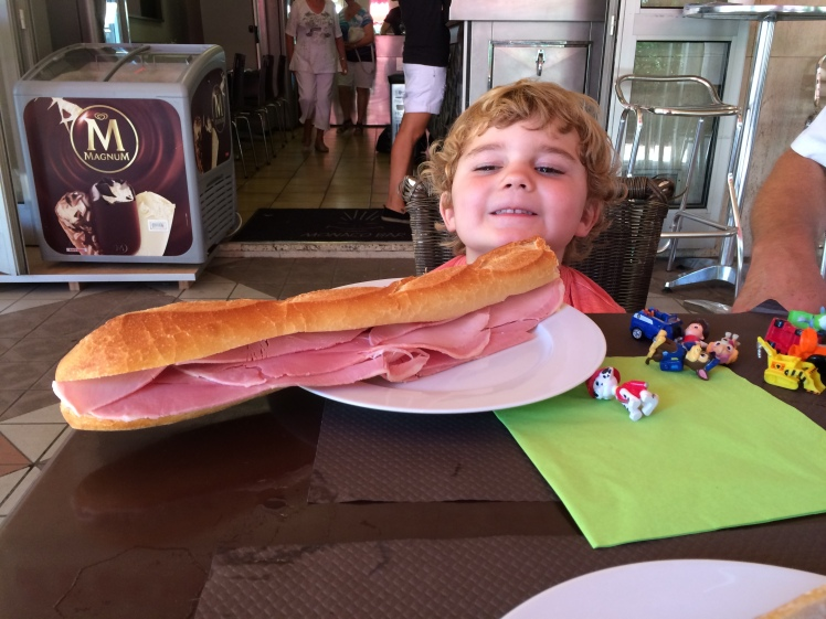 baguette at Monaco Bar