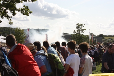 carfest 2015 tyre burn out