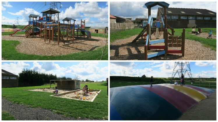 outdoor play at green dragon farm