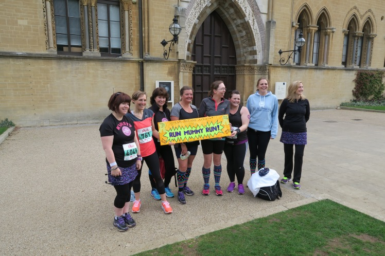 Run Mummy Run Oxford Half Crew