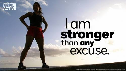 I am stronger than any excuse