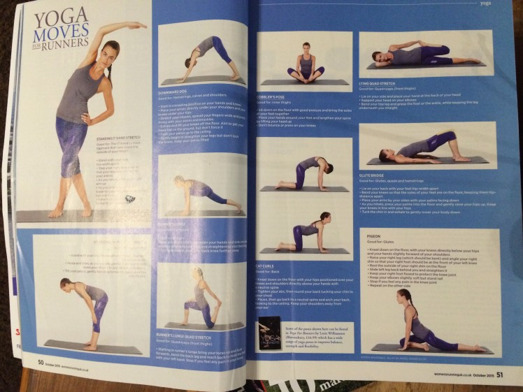 Yoga moves for runners