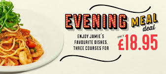 Jamie's Italian in Oxford - evening meal deal