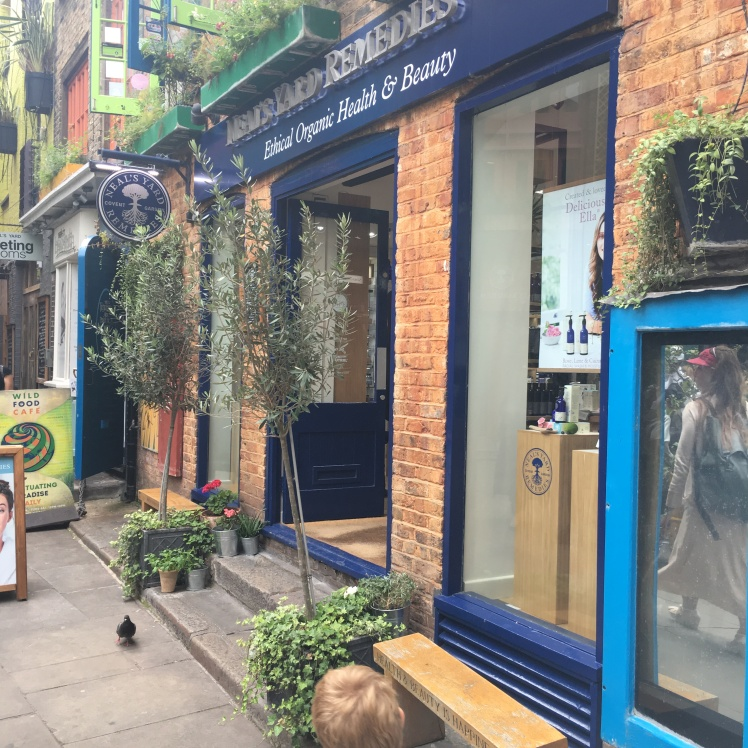 Neal's Yard Remedies HQ in Covent Gardens