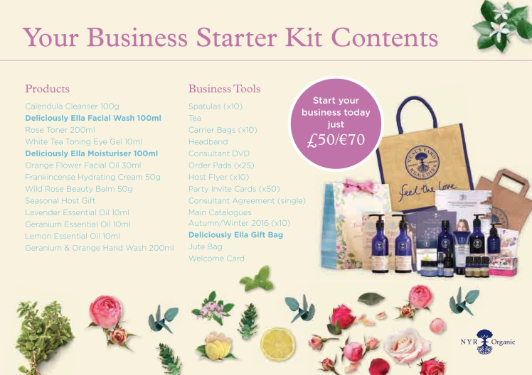 Neal's Yard Starter Kit