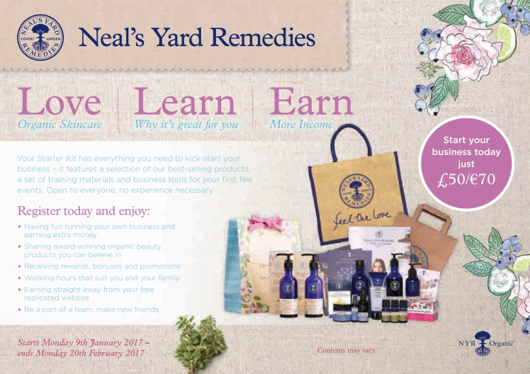 Love Learn Earn with Neal's Yard