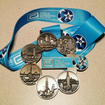 Abbott World Marathon Major Medal
