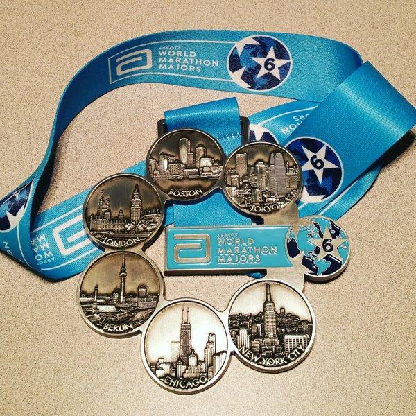 Abbott World Marathon Major Medal
