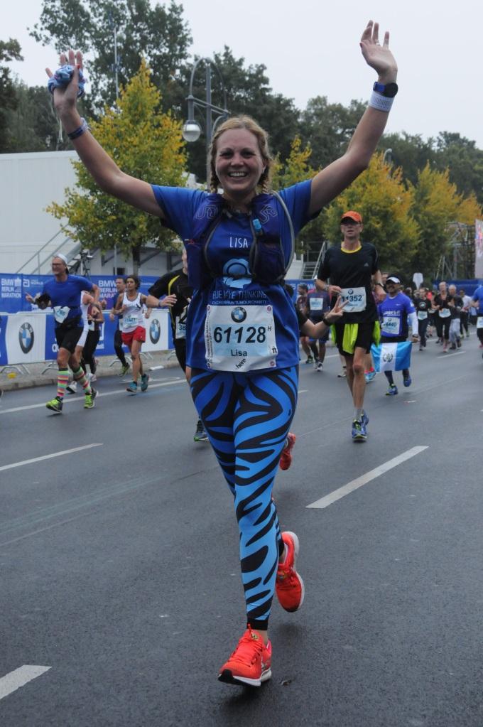 Finishing Berlin Marathon 2017
