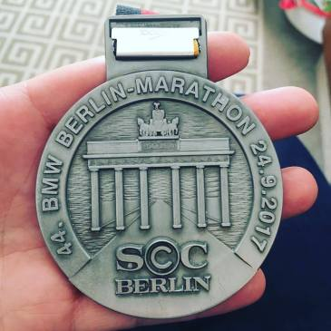 Berlin marathon medal 2017